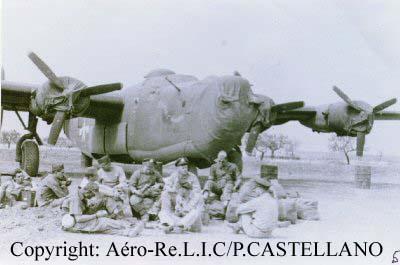 In mémoriam Crash du  B24 Libérator du capitaine Robert W. H B24_41-29412